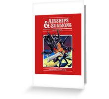 Airships & Summons Greeting Card
