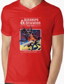 Airships & Summons Mens V-Neck T-Shirt