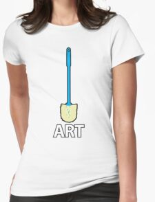 This is What Art's About Womens Fitted T-Shirt