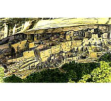 Mesa Verde 2000 jGibney The MUSEUM Zazzle Gifts RedBubble Photographic Print