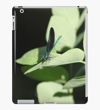 Emerald Dragonfly iPad Case/Skin