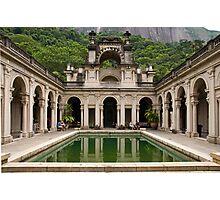 Parque Lage, Rio de Janeiro Photographic Print