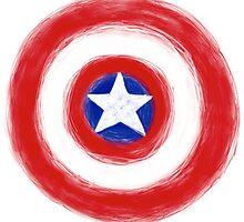 Captain America's Shield by juliaholzman