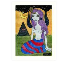 Britta Sphinx Art Print