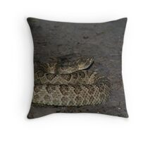 Great Basin Rattlesnake Throw Pillow