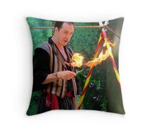 You Want Me To Do WHAT With This Fire? Throw Pillow