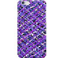 Precious Purple Pixelation iPhone Case/Skin