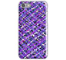 Precious Purple Pixelation iPhone Case/Skin