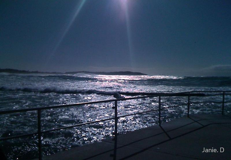 Silvery Sunrise off Dee Why Beach by Janie. D