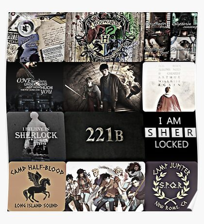 Fandom's Come In Many Types Poster
