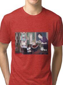 Late Lunch at 221B Baker Street Tri-blend T-Shirt