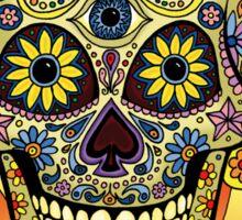 Sugar Skull One - Day of the Dead Sticker