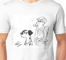 Pongo and Roger sketch Unisex T-Shirt