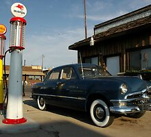 Fill er up - Williams, Arizona by Harv Churchill