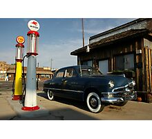 Fill er up - Williams, Arizona Photographic Print