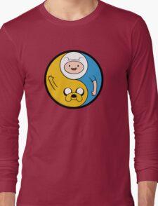 Jake & Finn Yin Yang Long Sleeve T-Shirt