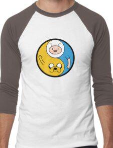 Jake & Finn Yin Yang Men's Baseball ¾ T-Shirt