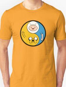 Adventure Time Jake & Finn Yin Yang T-Shirt