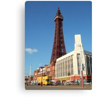 Price busting Tower Canvas Print
