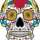 Sugar skull by Vilma Bechelli