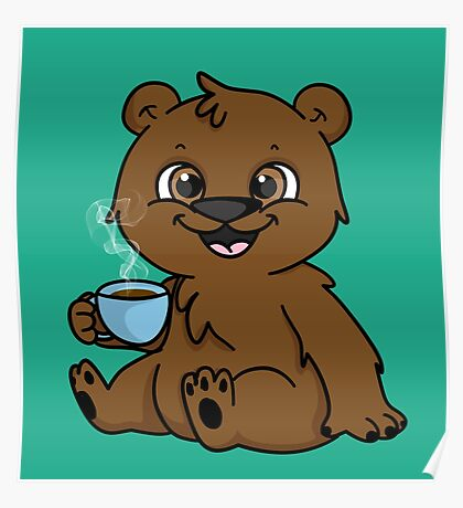Coffee Bear  Poster