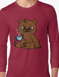 Coffee Bear  Long Sleeve T-Shirt