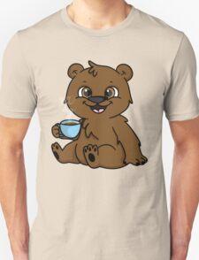 Coffee Bear  Unisex T-Shirt