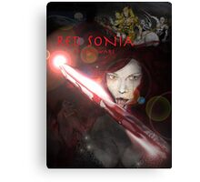 RED SONIA ,BLOOD WARS Canvas Print