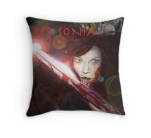 RED SONIA ,BLOOD WARS Throw Pillow
