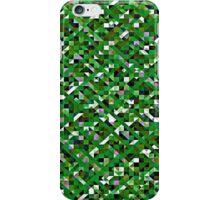 Grassy Green Pixelation iPhone Case/Skin