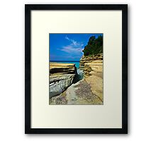 Crevice of Dreams Framed Print
