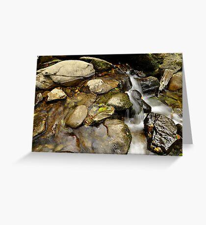 still water flows. Greeting Card