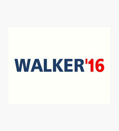 Scott Walker 16 For president T-Shirts Art Print