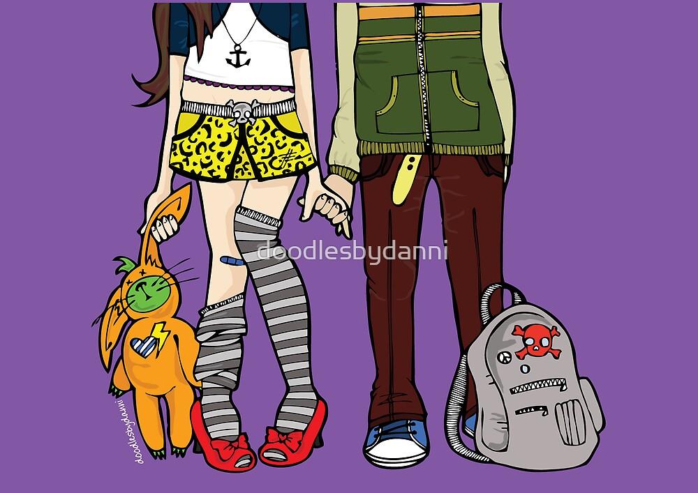 Love Scene by doodlesbydanni
