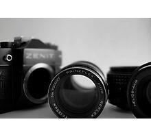 1980's SLR - Zenit TTL  Photographic Print