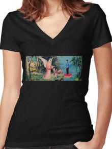 Sweet and Salty Women's Fitted V-Neck T-Shirt