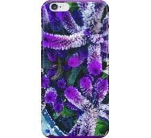 Peculiar Purple Plant iPhone Case/Skin