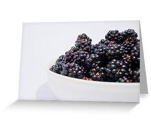 Blackberrys Greeting Card