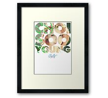 Girls' Generation (SNSD) Sooyoung 'Party' Framed Print