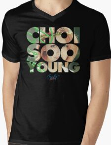 Girls' Generation (SNSD) Sooyoung 'Party' Mens V-Neck T-Shirt