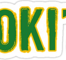 Loki'd tee Sticker