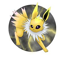 Jolteon Photographic Print