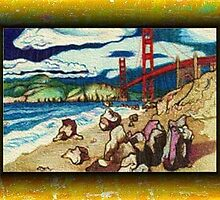 Baker Beach by Jerry  Stith