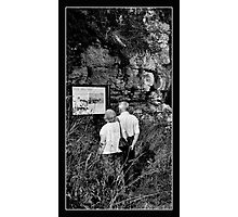 Love, I Think we're Lost. Photographic Print