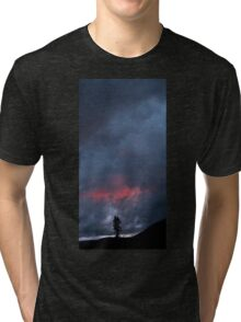Sunset Over Childs Meadow. Tri-blend T-Shirt
