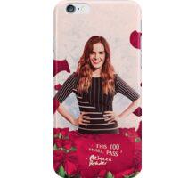 Rebecca Mader;  iPhone Case/Skin