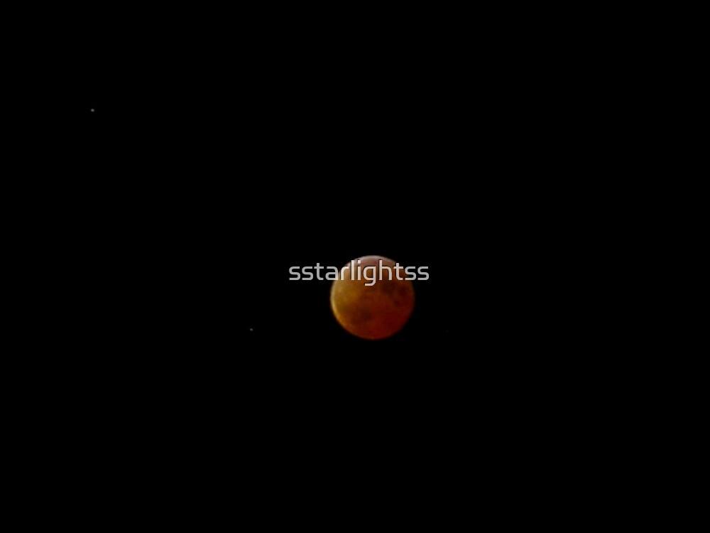 Lady Moon dressed in Orange by sstarlightss