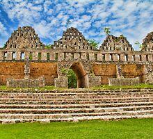 The Dovecote. Uxmal. Yucatan. Mexico by vadim19