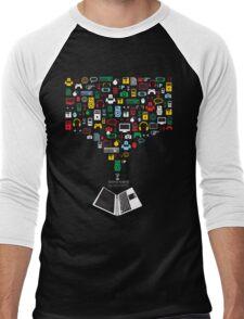 Technologic Men's Baseball ¾ T-Shirt