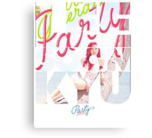 Girls' Generation (SNSD) Sunny 'Party' Canvas Print